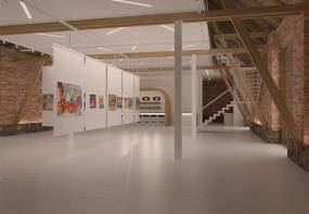 Daudzfunkcionāls mākslas centrs - šķūnis