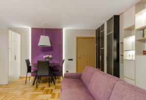 Interjera dizaina projekts dzīvojamai istabai