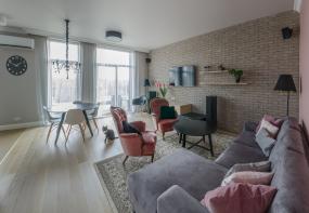 Interjera dizains dzīvoklim Āgenskalnā
