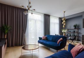 Dzīvokļa interjera dizains Liepājas ielā
